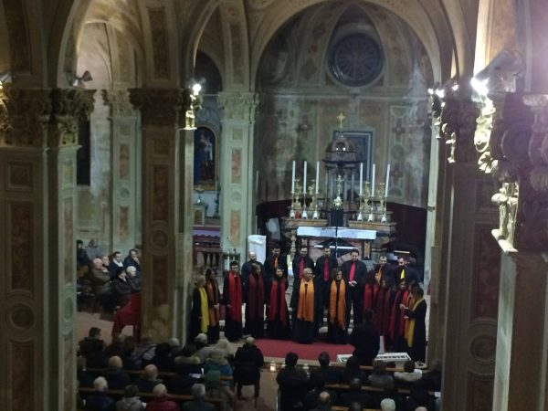 Il coro Gospel in un'edizione precedente