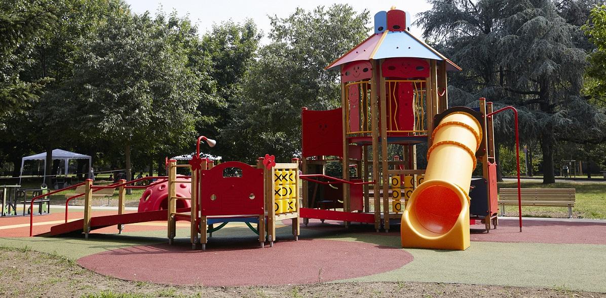 Il Castello del parco accessibile ai Giardini di Villa Finzi