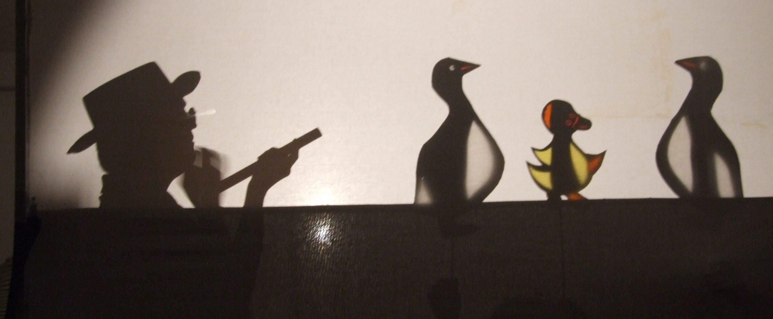 Elvio campione del teatro delle ombre