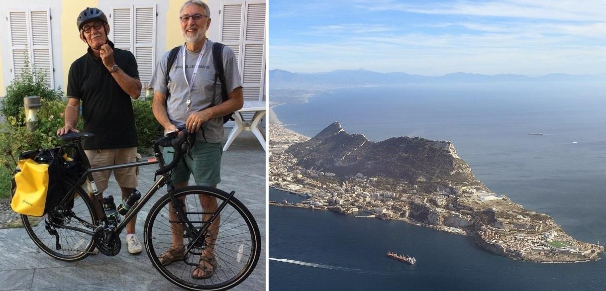 Claudio e Tino al Gabbiano (a breve, foto del trio al completo). Foto Gibilterra di Adam Cli, da Wikipedia.